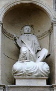 Fonícula de Sant Vicenç a l'atri de la parròquia
