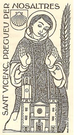 Dibuix del sant (Martí Nuet)